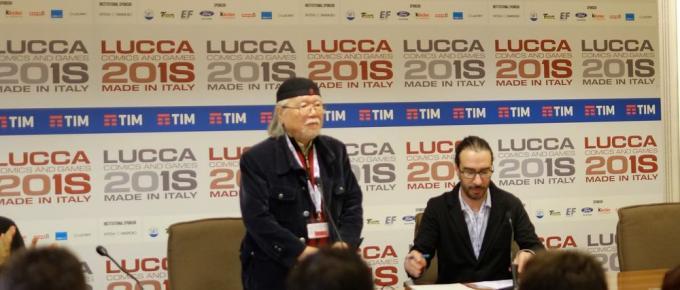 Leiji Matsumoto a Lucca Comics and Games 2018
