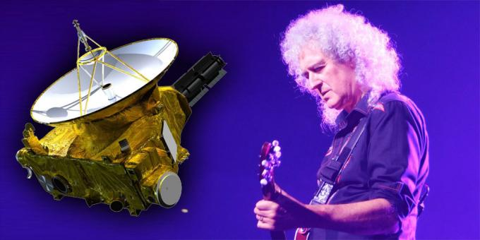 Brian May e la sonda New Horizons