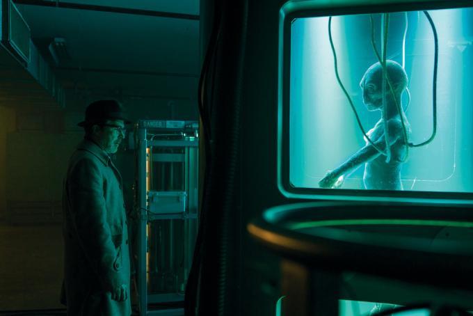 No, niente alieni qui.