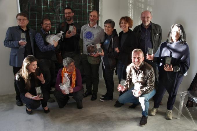 I vincitori del Premio Italia 2019. Foto Paolo S.Cavazza