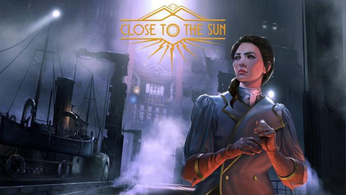 Rose, la protagonista di Close to the Sun, nell'illustrazione di copertina del videogame.