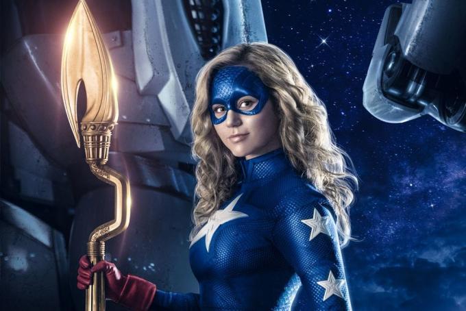 La nuova eroina dell'universo in streaming e tv della DC Comics.