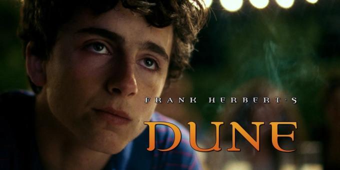 Un nuovo Dune, un nuovo Paul Atreides.