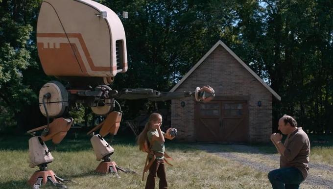 Il robot, il migliore amico dell'uomo.