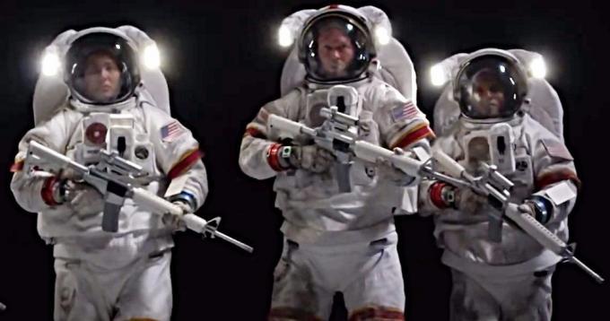 Space Wars?