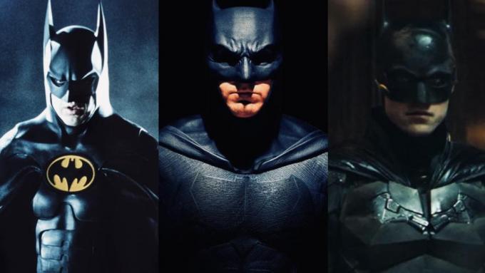 Tre Batman, tre mondi diversi.