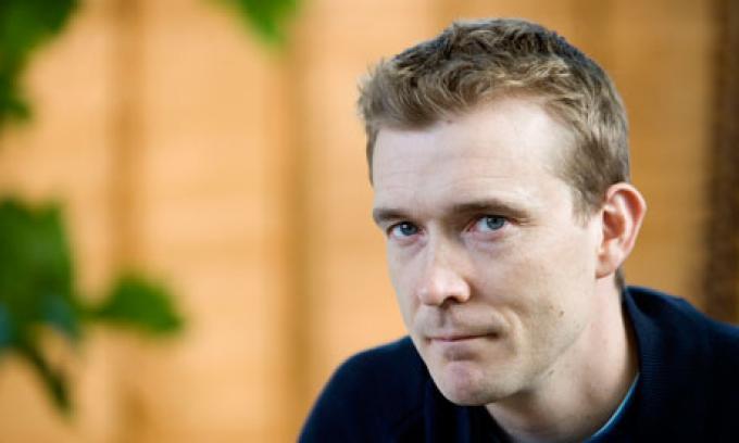 David Mitchell, autore del romanzo L'Atlante delle nuvole