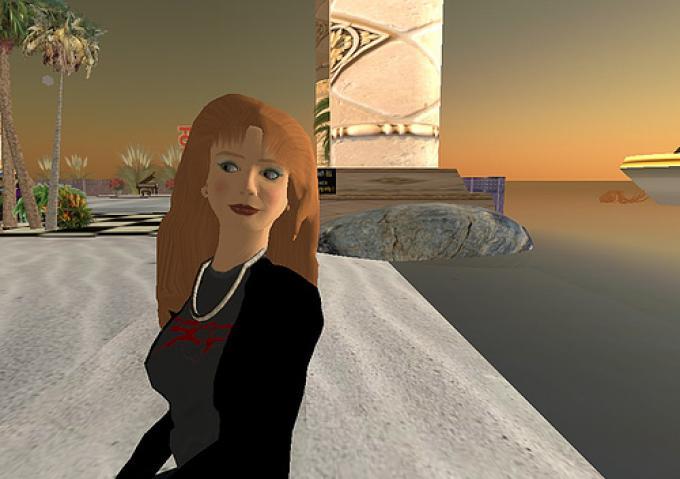 Su Second Life, l'Italian Beach Jazz Club è un posto perfetto per godersi il tramonto sulla spiaggia