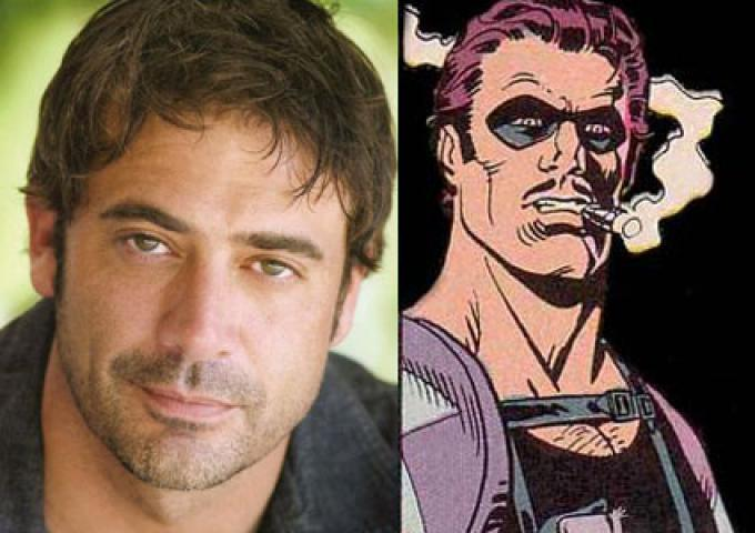 Jeffrey Dean Morgan, interprete de Il Comico in Watchmen