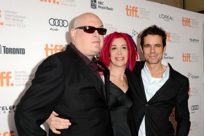 Andy Wachowski, Lana Wachowski, e Tom Tykwer.