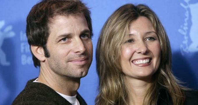 Zack Snyder e Deborah Snyder, rispettivamente regista e produttrice di Watchmen.