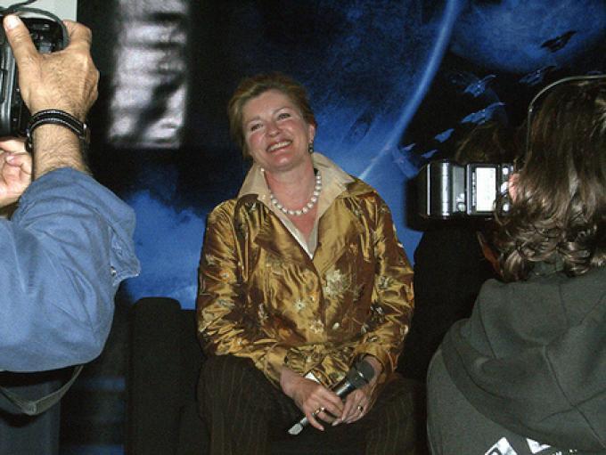 Kate Mulgrew al Telefilm Festival (foto: Paolo Attivissimo)