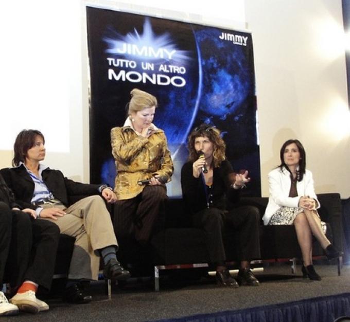 Telefilm Festival. Da sinistra Angelica Tintori, Kate Mulgrew, Gabriella Ascari, Flora Staglianò (foto: Paolo Attivissimo)