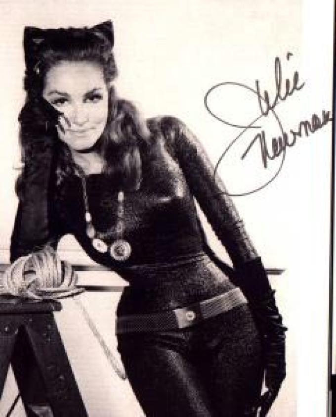 Julie Newmar alias Catwoman