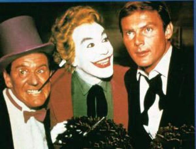 Penguin, Joker e Wayne