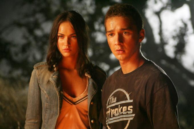 Shia LeBoef e Megan Fox