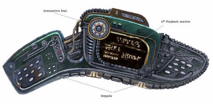 Stargate Universe: la console