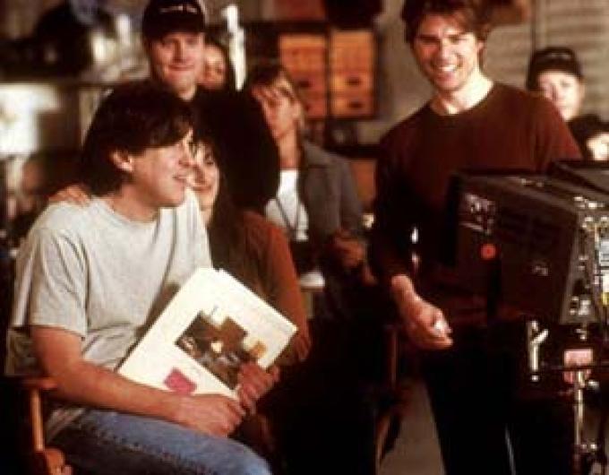 Tom Cruise e il regista Cameron crowe