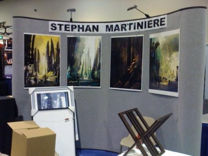 La mostra di Stephan Martiniere, copertinista 2009 di Robot