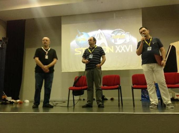 Sosio e Corridore nella presentazione della convention 2013