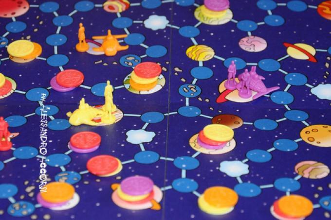 AstroNuts mappa di gioco