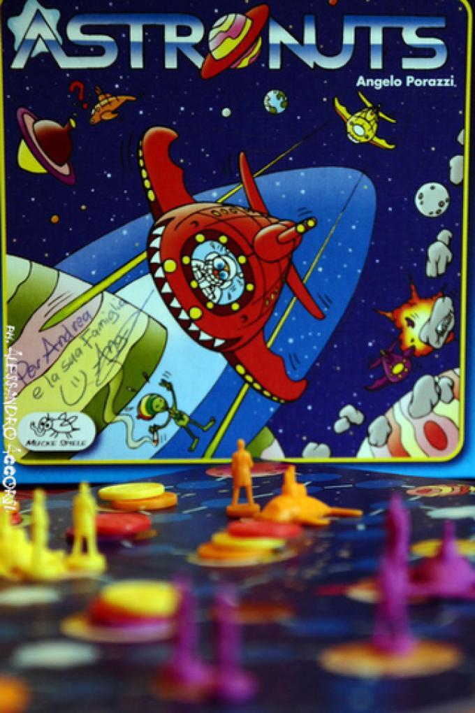 AstroNuts scatola e mappa