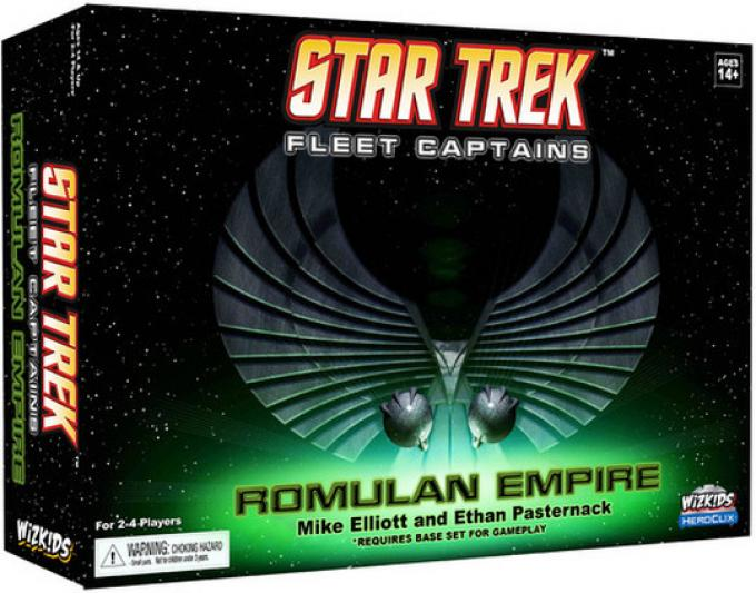 Star Treck Fleet Captains Romulan Empire