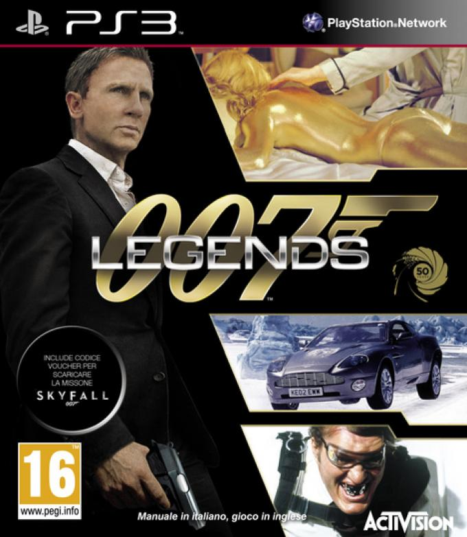 007 Legends - Cover versione PS3