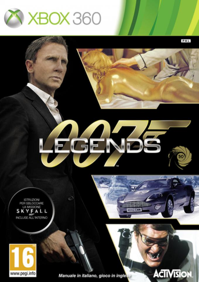 007 Legends - Cover versione XBox