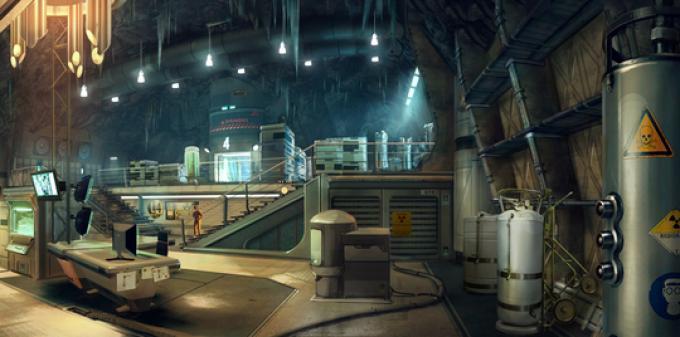 007 Legends - Virus Lab Concept Art (On Her Majesty's Secret Service)
