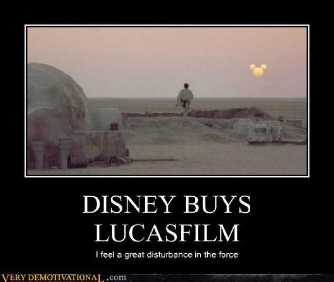"""""""Disney compra Lucasfilm - Sento una grave perturbazione nella forza"""""""