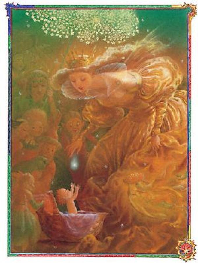 Illustrazione per <i>Le Avventure di Pollicino</i> di  Marianne Mayer (Sea Star Books, novembre 2001). Finalista al Chesley 2002 come miglior illustrazione interna