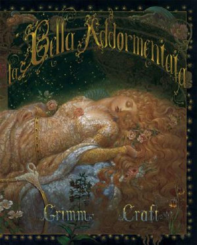 Il volume in uscita in Italia, <i>La bella addormentata</i>