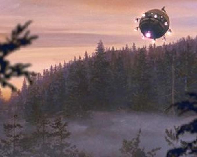Decollo dell'astronave rimasterizzato nell'edizione del ventennale