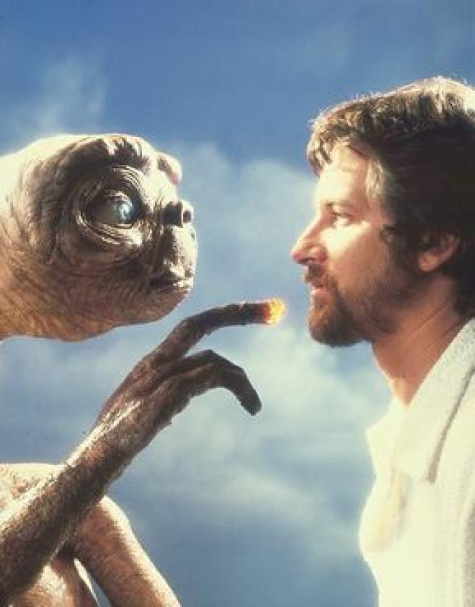 Spielberg e il suo attore principale