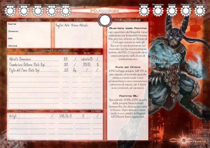 ESPer Force 5012: scheda personaggio
