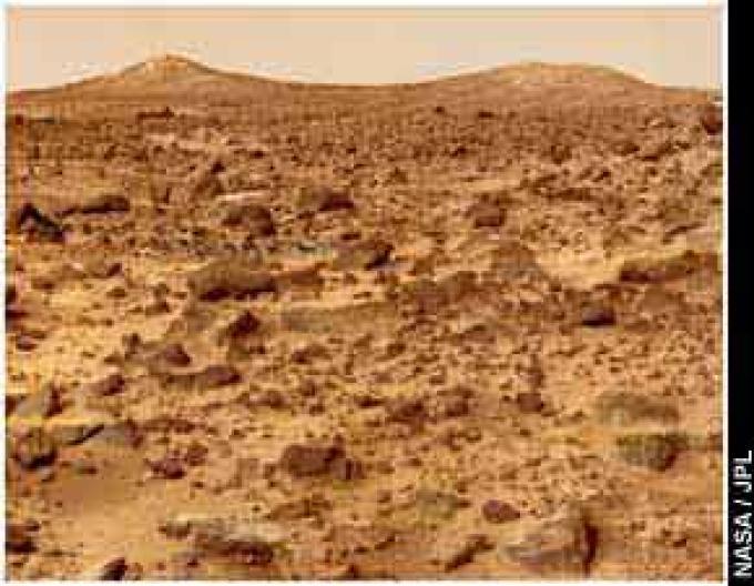 Il suolo di Marte fotografato dal PathFinder