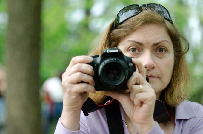 Luisa Iori (1966-9 aprile 2015) fotografa, giornalista