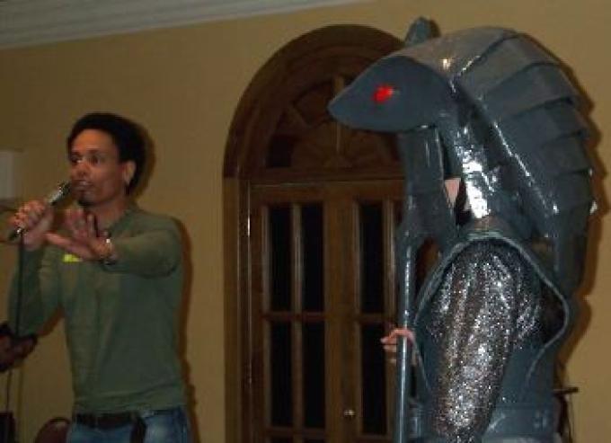 Peter Williams (Apophis) fa il suo show a Fiuggi