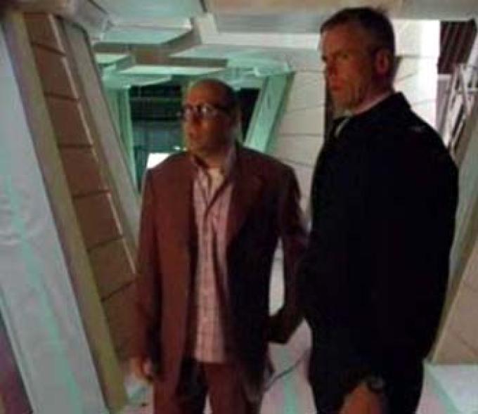 Questi set ricordano molto i corridoi dell'astronave Goa'uld...