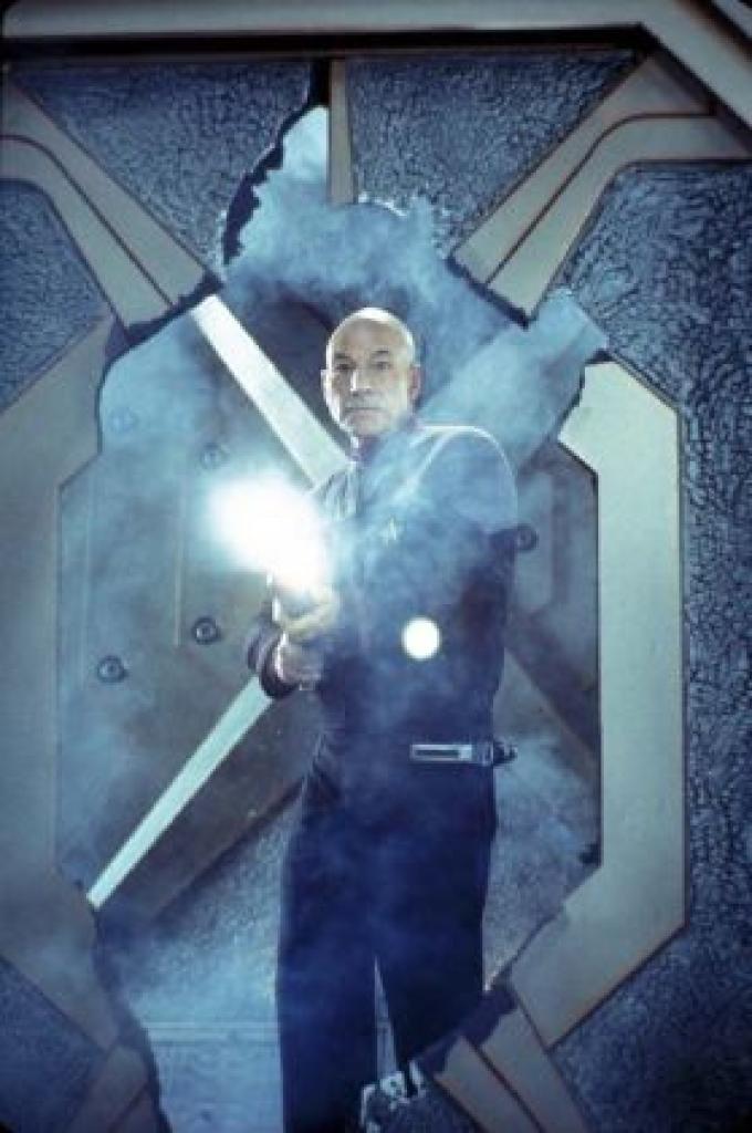 Patrick Stewart in <i>Star Trek Nemesis</i>