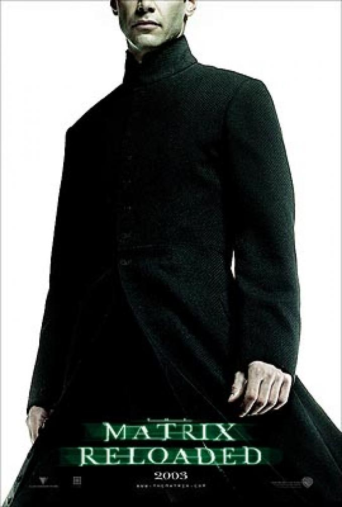 Keanu Reeves in <i>Matrix Reloaded</i>