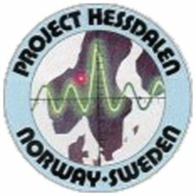 Il logo del Progetto Hessdalen.