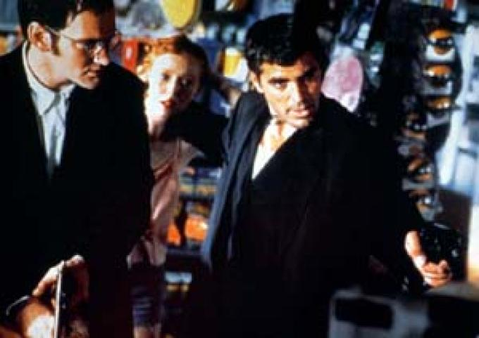 Dal tramonto all'alba (<i>From Dusk til Dawn</i>, 1996): Quentin Tarantino, George Clooney