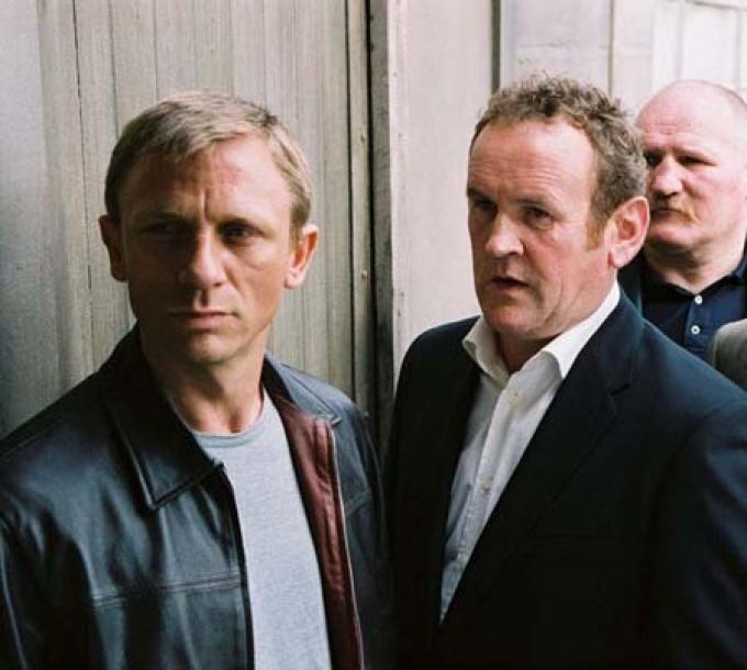 The Pusher: con Colm Meaney