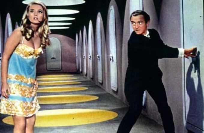 David Niven nella prima versione di <i>Casino Royale</i>