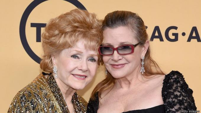 Debbie Reynolds (El Paso, 1/4/1932 - Los Angeles, 28/12/2016) attrice, madre di Carrie Fisher