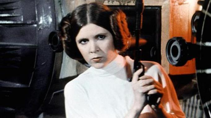 Carrie Fisher (Beverly Hills, 21/10/1956 - Los Angeles, 27/12/2016) attrice