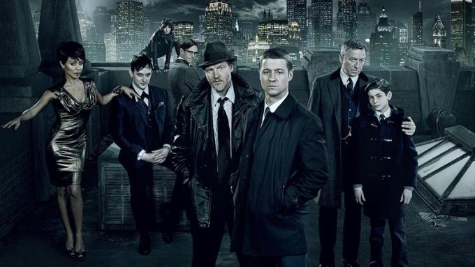 Gotham (Fox) dal 2014, tre stagioni