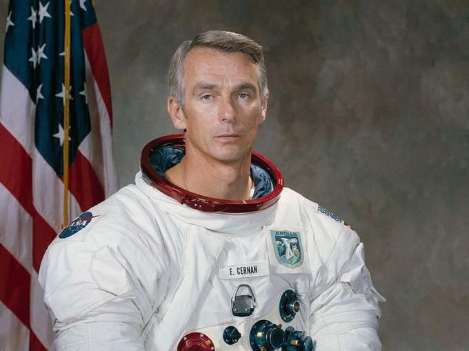 Eugene Cernan (Chicago, 14/3/1934 - Houston, 16/1/2017) Astronauta